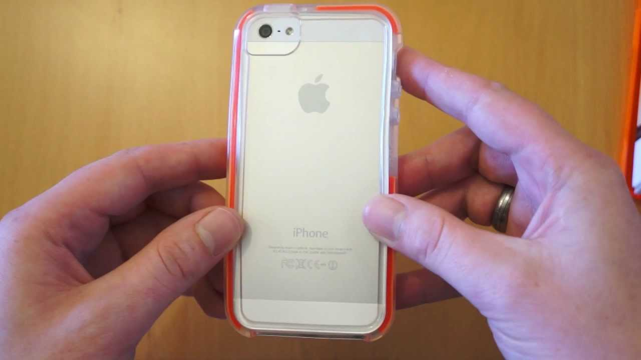 online store 06414 5aed6 Tech21 Impact Band Clear iPhone 5S / 5 Case Review