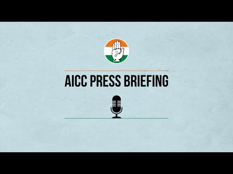 LIVE: Congress Party Briefing by Mallikarjun Kharge, Dr Abhishek M Singhvi and Gaurav Gogoi