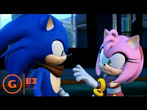 Sonic Boom Amy Rose Gameplay E3 2014 Youtube