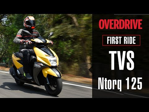 2018 TVS Ntorq first ride review | OVERDRIVE