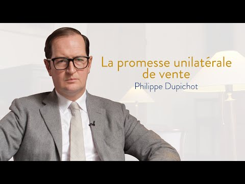 La promesse unilatérale dans la réforme du droit des contrats (Ph. DUPICHOT)