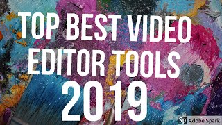 Top best video editing software in 2019