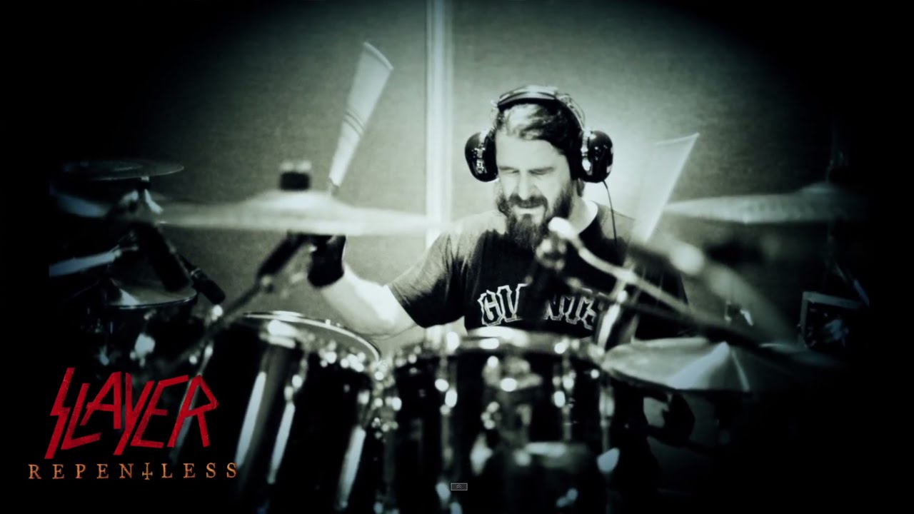 SLAYER — Recording Drums for REPENTLESS (OFFICIAL INTERVIEW)