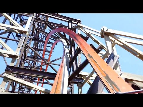 Goliath Front Seat POV 2015 FULL HD Six Flags Great America