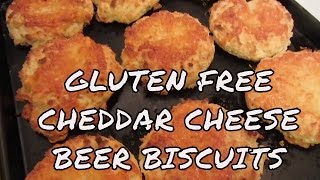Gluten Free Cheddar Cheese Beer Drop Biscuits