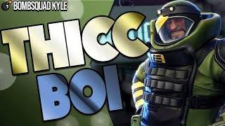 FORTNITE | THICC BOI KYLE | New MAX ARMOR CONSTRUCTOR | Almost Invincible