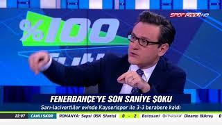 % 100 Futbol Fenerbahçe - Kayserispor 30 Ekim 2017
