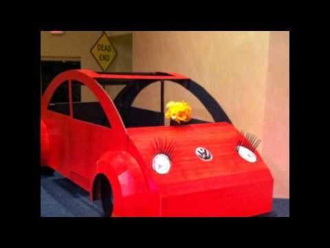 Joseph Hall - Cardboard VW