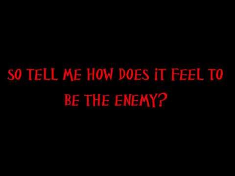 Sevendust Enemy with on screen lyrics