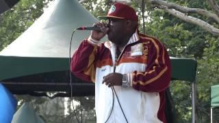 Central Park SummerStage 2014 - Rahzel (pt. 1)!