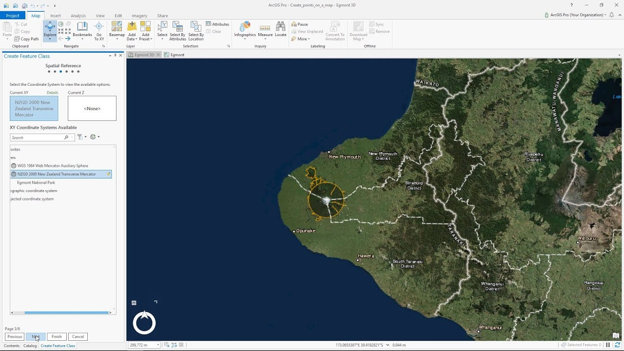 Create Points on a Map in ArcGIS Pro