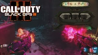 BLACK OPS 3 ZOMBIES ALL GUNS PACK A PUNCHED M.R.6/DEATH AND TAXES
