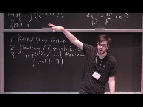 Will Sawin (ETH Zürich) - Trace functions and special functions [2017]