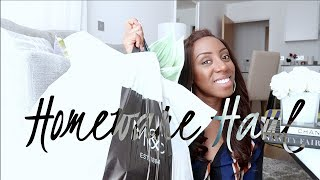 HOMEWARE HAUL - INTERIOR DECOR FROM M&S - GIVEAWAY WINNER ANNOUNCEMENT! | Style With Substance