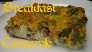 Breakfast Casserole Recipe Short Version