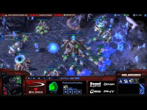 Minigun (P) vs. Schnieder (Z) - Live Commentary - Starcraft 2 Ladder