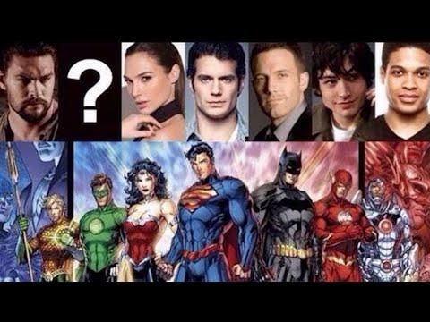 WB Announces Official Justice League Movie Universe Roadmap!
