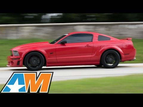 2007 Mustang GT Gets Power, Handling & Style! - AmericanMuscle.com