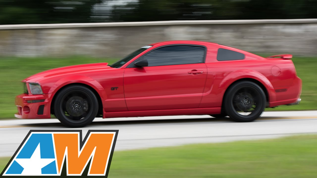 2007 mustang gt gets power handling style americanmuscle com youtube