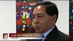 Exposición del pintor Luis Millingalli en la Casa de la Cultura