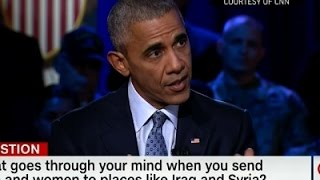 Obama: U.S. Not In Iraq, Afghanistan For Combat