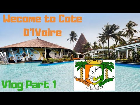 My trip  to Ivory Coast | Vlog 2018 | Part 1 🇨🇮
