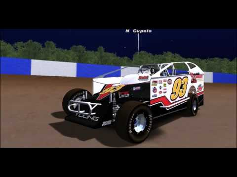 Big Block Modifieds on R Factor - Canandaigua Speedway