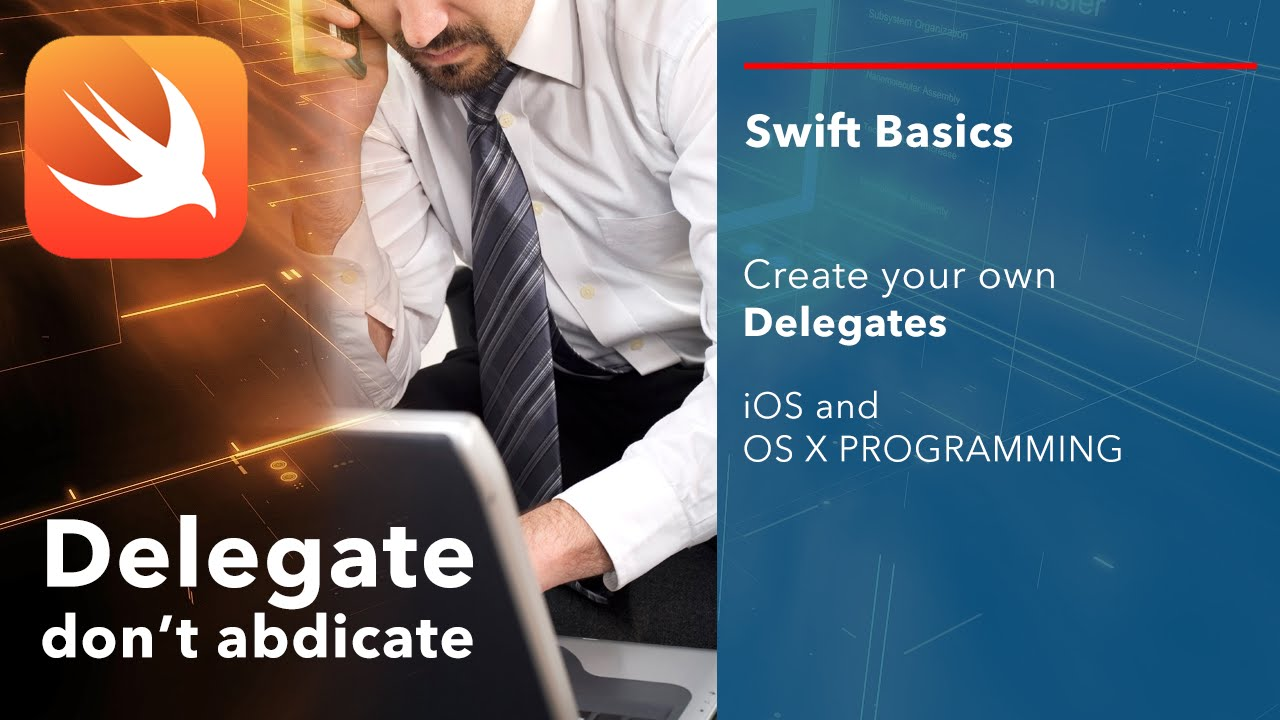 Ios delegate tutorial.