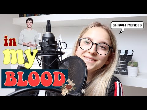 "Cover Lagu Shawn Mendes ""IN MY BLOOD"" // Agata Gładysz COVER STAFABAND"