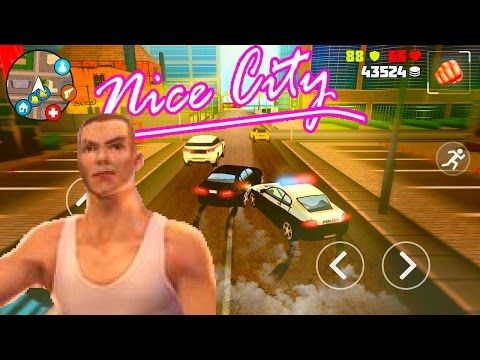 """6 minutes of """"The Grand Auto 2"""" (BMG IT corp)   Android Games   *GLITCHES*"""