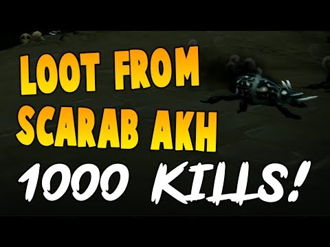 Runescape 2017 | Loot From 1000 Scarab Akhs! | NEW SERIES!?