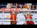 VIETNAM vs. INDONESIA | SET 2 | ASEAN VOLLEYBALL GRAND PRIX 2019 | DAY 2