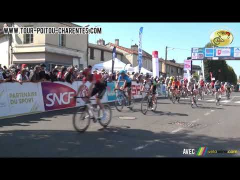 Arrivée de la 3e étape du Tour Poitou-Charentes 2021 à Loudun
