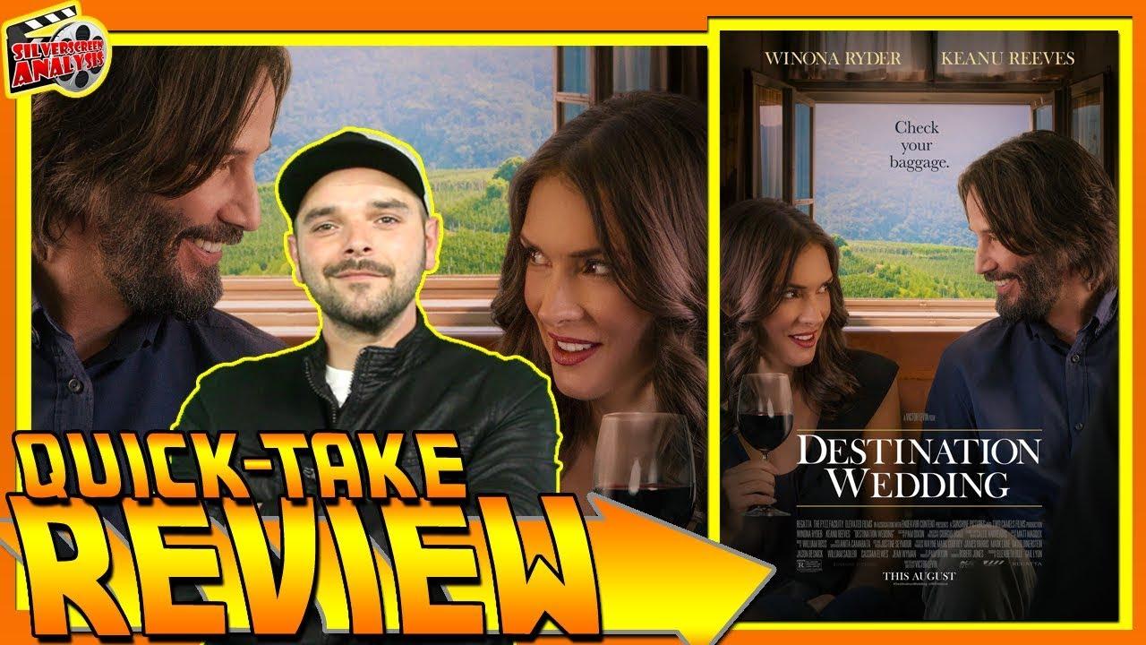 Destination Wedding Review.Destination Wedding 2018 Movie Review Keanu Reeves Winona Ryder