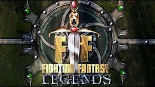 TRYING NEW CARD GAME FIGHTING FANTASY LEGENDS [AD]