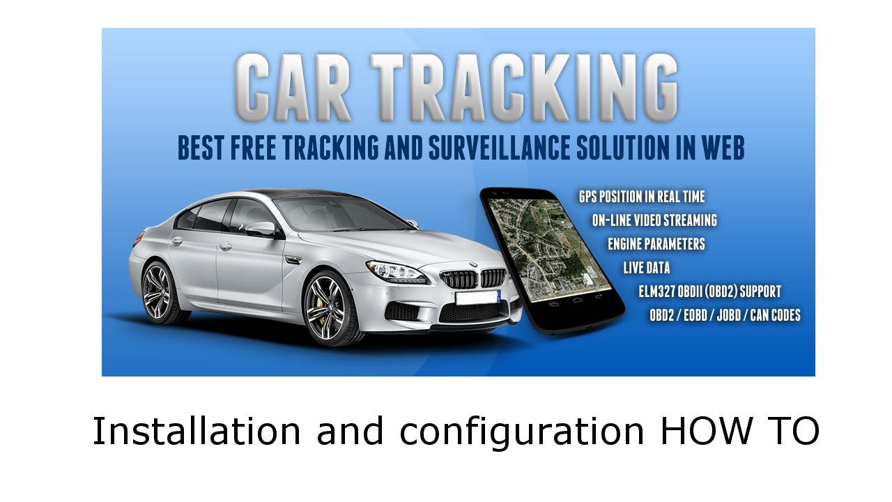 Car tracking installation how to free gps tracking solution youtube