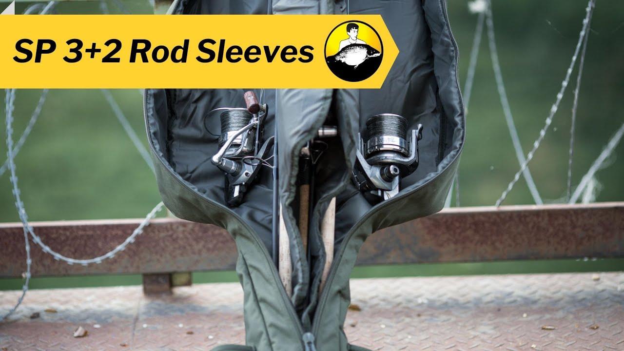 New Solar Tackle SP Single Rod Sleeve 3+2 Rod Sleeve 12ft or 13ft Carp Fishing