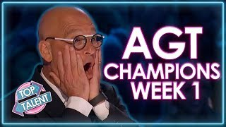 America's Got Talent: The Champions Auditions 2020 | WEEK 1 | Top Talent