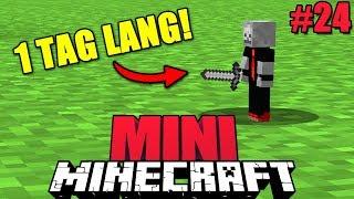 24 Stunden KLEIN BLEIBEN?! - Minecraft MINI #24 [Deutsch/HD]