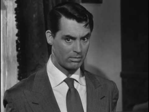 best cary grant reaction in arsenic and old lace 1944