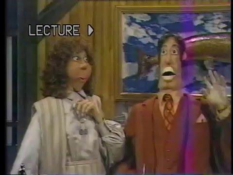 À plein temps 1984 ,Marionnette géante.,Télé Québec.