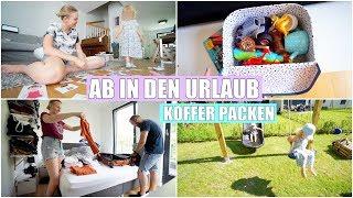 Urlaub mit 3 Kids | Koffer packen & Chaos Familie | Isabeau