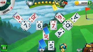 Golf Solitaire Tournament the most populair card game in Google Play store