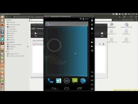 Còmo instalar android en Ubuntu 13.10/14.04/14.10 con Genymotion