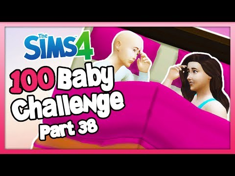 The Sims 4: 100 Baby Challenge with Toddler - Part 38 -TRYING FOR A BABY!
