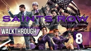Saints Row 4 Walkthrough - Part 8 ESCAPE ZIN SHIP - Lets Play Gameplay & Commentary