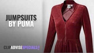 Top 10 Puma Jumpsuits [2018]: Puma Womens Velour T7 Jumpsuit