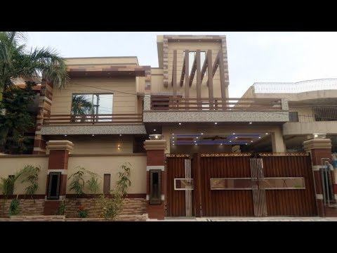 BRAND NEW 1 KANAL GOOD LOCATION HOUSE FOR SALE IN REVENUE SOCIETY LAHORE