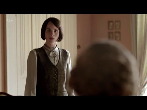Lady Edith gives Mary the business