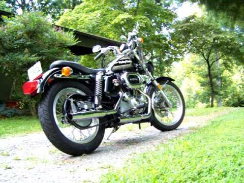 1976 Harley-Davidson Sportster XLH 1000 - YouTube
